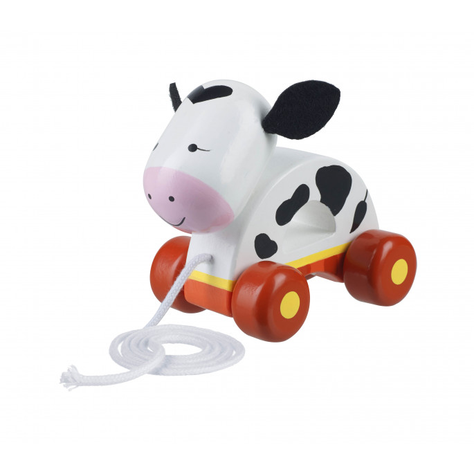 Cow Pull Along (pack of 4)