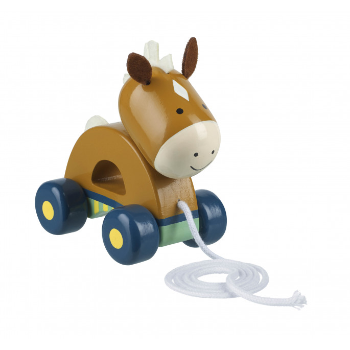 Pony Pull Along (pack of 4)