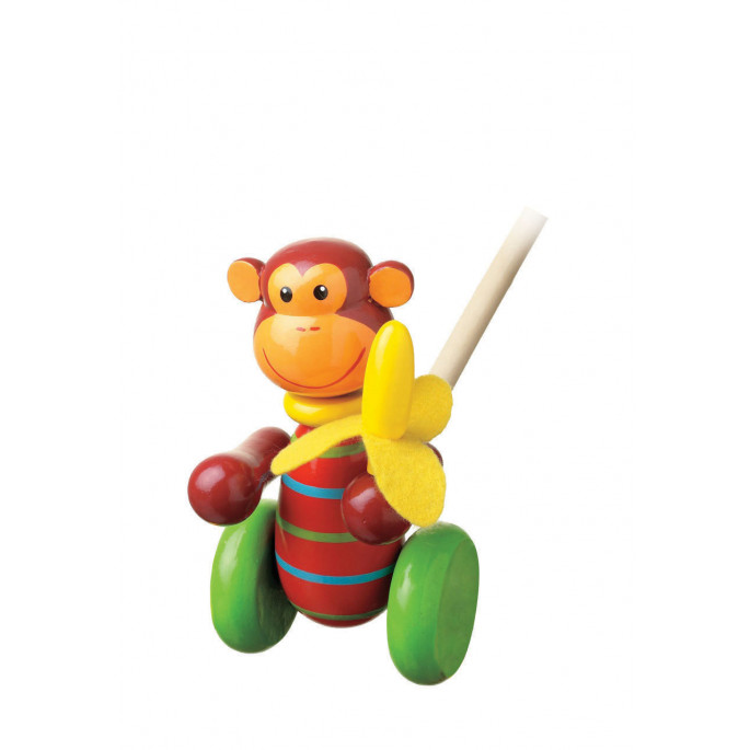 Monkey Push Along (pack of 6)