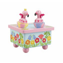 Flamingo Music Box (pack of 4)