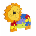 Lion Number Puzzle (pack of 4)