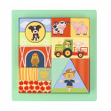 Farm Animal Block Puzzle (pack of 2)
