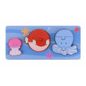 Sealife Mini Puzzle Tray (pack of 4)
