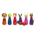 Woodland Bowling Set (pack of 4)