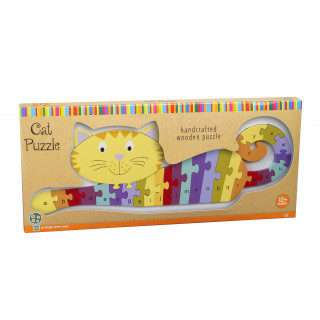 Alphabet Cat Puzzle (pack of 4)