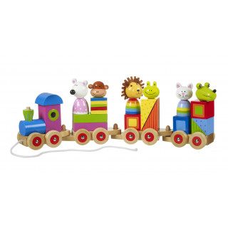 Animal Puzzle Train (pack of 2)