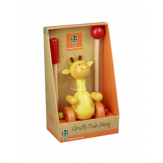 Giraffe Push Along (Boxed) (pack of 4)
