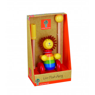 Lion Push Along (Boxed) (pack of 4)