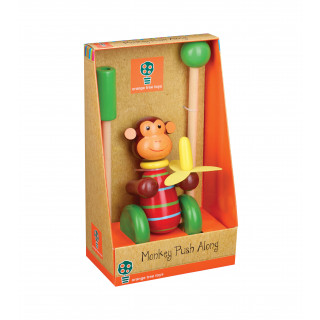 Monkey Push Along (Boxed) (pack of 4)