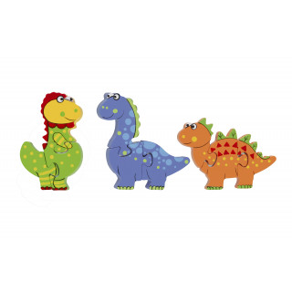 Dinosaur Mini Puzzle Set (pack of 6)