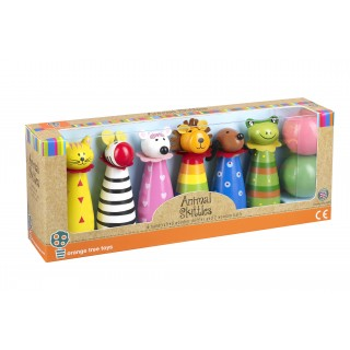 Animal Bowling Set (pack of 4)