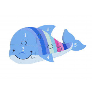 Dolphin Number Puzzle (pack of 4)