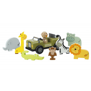 Safari Play Set (pack of 4)