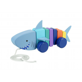 Shark Pull Along (pack of 4)
