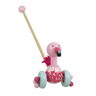 Flamingo Push Along (pack of 6)
