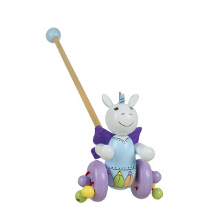 Unicorn Push Along (pack of 6)