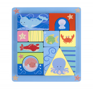 Sealife Block Puzzle (pack of 2)