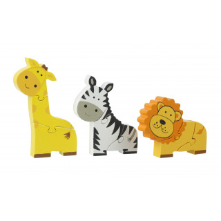 Safari Mini Puzzle Set (pack of 6)