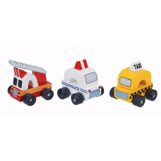 Big City Vehicles (pack of 4)