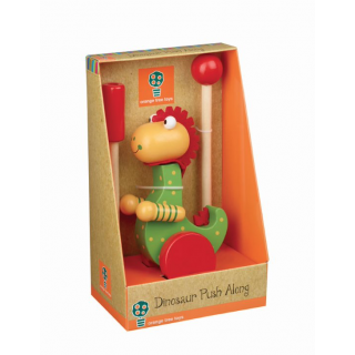 Dinosaur Push Along (Boxed) (pack of 4)