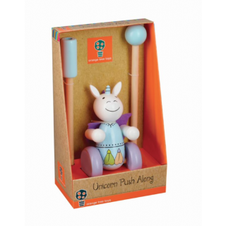 Unicorn Push Along (Boxed) (pack of 4)