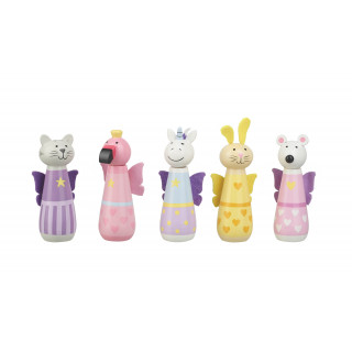 Animal Fairy Bowling Set (pack of 4)