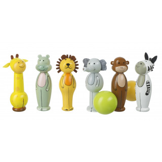Safari Bowling Set (pack of 4)