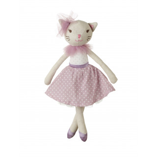 White Cat Doll (small) (pack of 4)