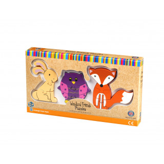 Woodland Mini Puzzle Set (pack of 6)